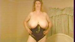 Tits then dildo.....