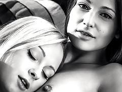 European beauties Naomi Nevena and Talia Mint