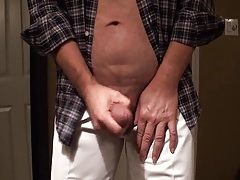 Close up cumshot with dirty talking