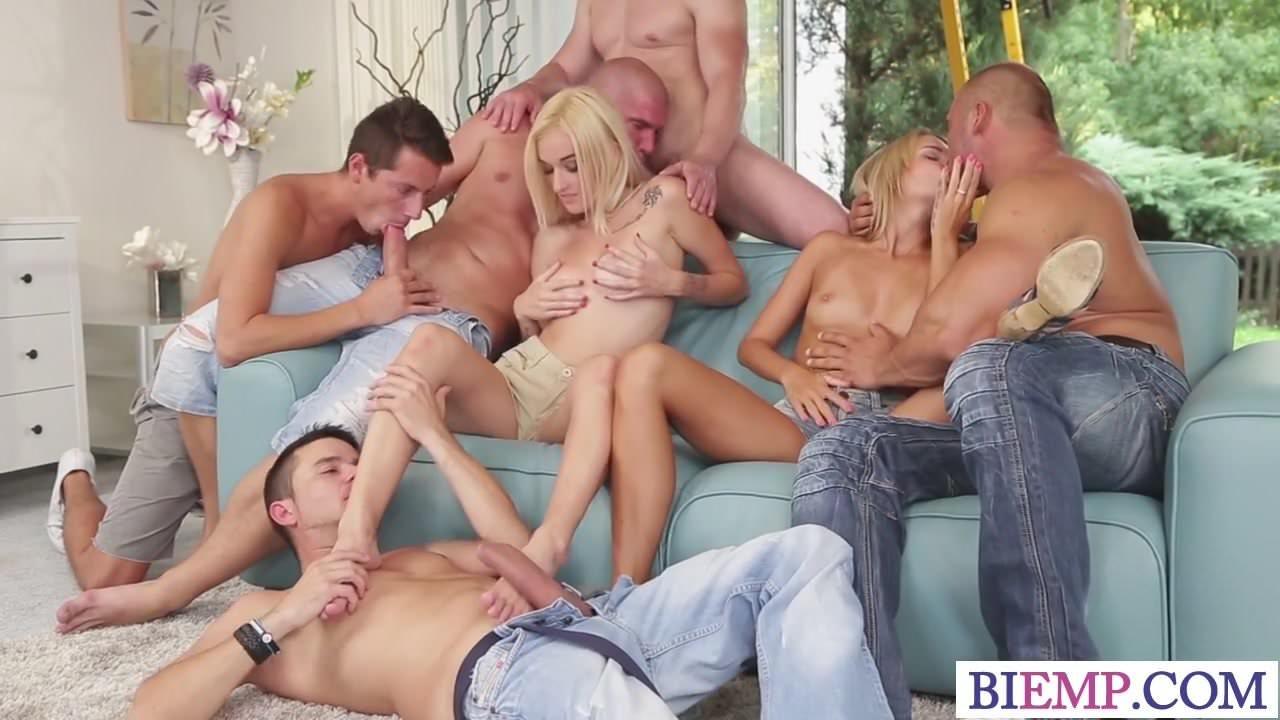 Αμφιφυλόφιλος orgie βίντεο