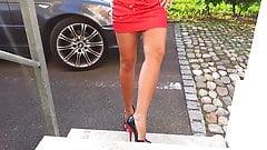 my very high heels