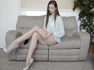 Think, that Absolutely incredible leg stocking tease share