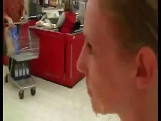 Public Facial Nude In Supermarket
