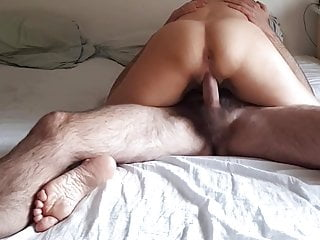 Amateur wife gets filled with cum on hidden cam