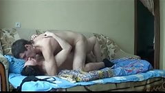 Hot sex with mature woman and younger man