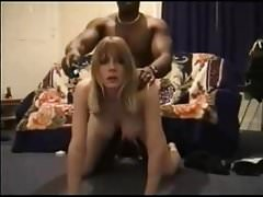 Interracial Nigerian immigrant pounds British girl (part 1)