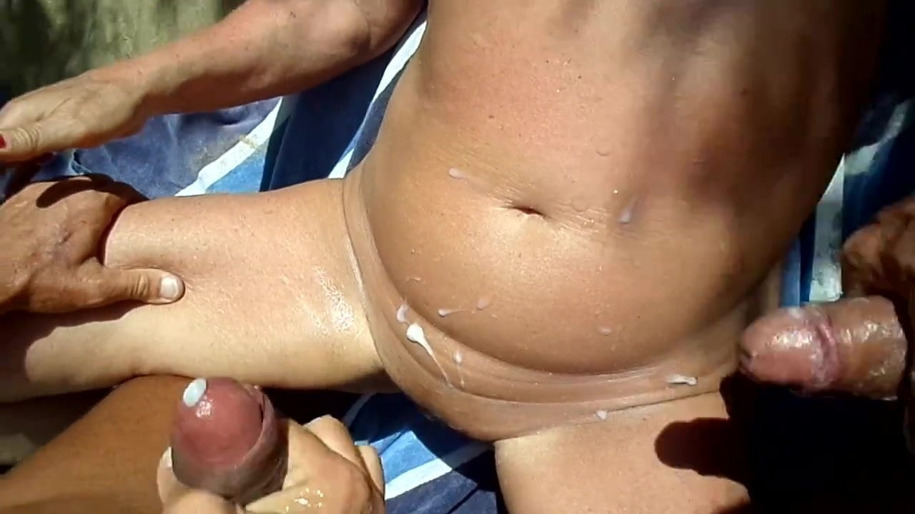 Teenagers stripping tit milk