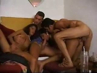 Indian - NRI girl gets fucked by couple of guys