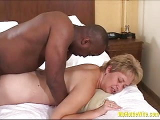 Tracy Licks.....Gets a SLOPPY INTERRACIAL CREAM PIE!!