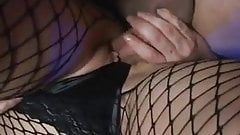 Subservient girl fucked hard, DP