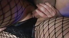 Subservient girl fucked hard, DP