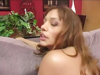Busty babe gets fuck after blowjob