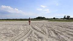 Dirty Babysitter's Nude Beach Adventure - P1 Intro