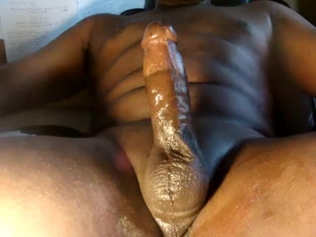 Thick gay black dick