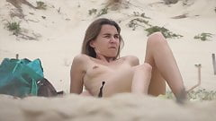 HD French topless incredible beach south west France's Thumb