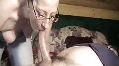 milf throats a long cock