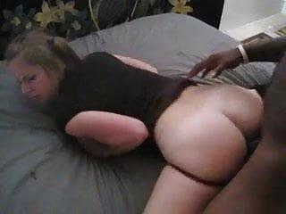 Amber Blank Interracial Cuckold Creampie
