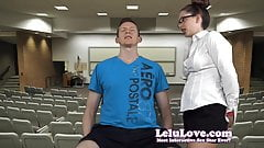 Lelu Love-Teacher Punishes With Face Licking