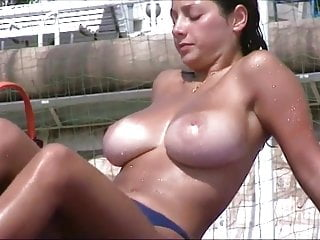 french beach vintage huge busty