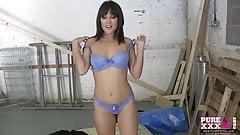 PureXXXFilms Cute girl loves eating cum
