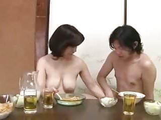 Totally Nude Mother and Son