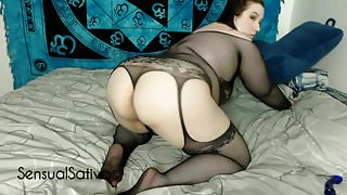 BBW Teases You With Her Fat Ass