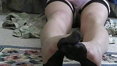 Sheer pantys and full fashioned stockings
