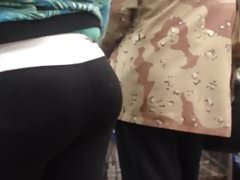 Pregnant Bubble Booty VPL (Checkout Line)