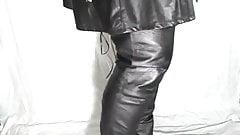 Leather overknee boots 1