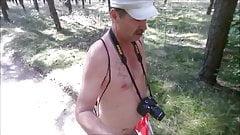 Nackt Wandern