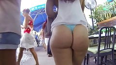 Big Ass Bikini Walking