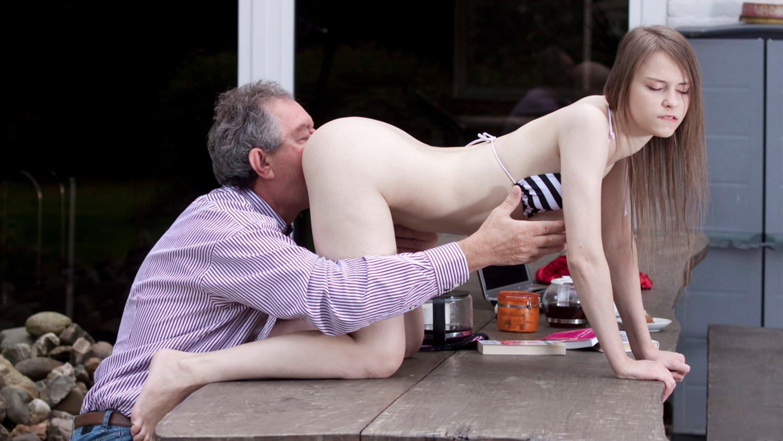 Teen fucked by grandpa