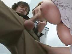 Marina Montana -  German Huge Saggy Tits Secretary Assfucked