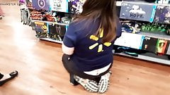 Butt crack Walmart worker love