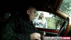 Bad girl Jesse Jane gets picked up on the side of the road