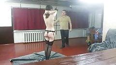 Whipping soft feminine body