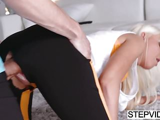 Preview 1 of Stepmom Marie Mccray seducing her stepson