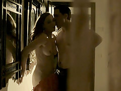 Melissa George Nude Sex Scene In Hunted ScandalPlanetCom