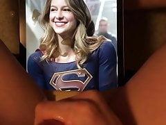 Melissa Benoist (Supergirl) - Cum Tribute #4