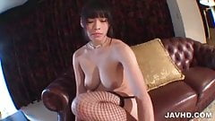 Anne Welcomes Large Cock Into Her Tiny Little Pussy