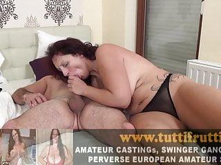 Wife cums loud om black amateur dick