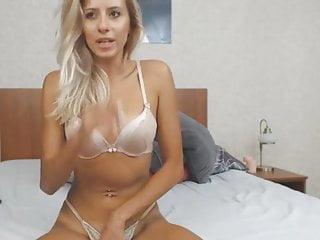 Naughty Blonde Pleasures Her Sweet Pussy