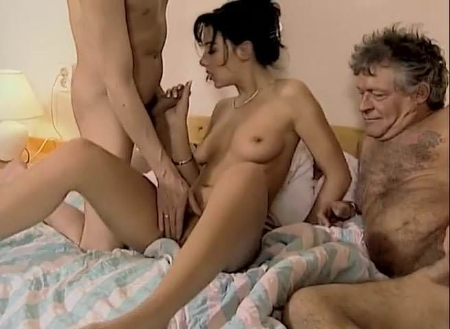 old young-threesome