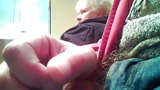 Granny sees restaurant flasher
