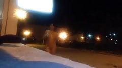Very Risky Night Time Street Masturbation