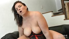 Amateur BBW french mom sodomized and fisted