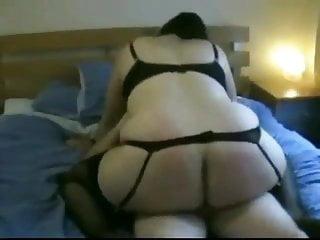 Fat Ass Chubby Ex GF riding my cock