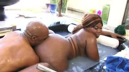 fat mom hairy porn Black