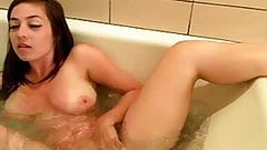 Bathtub masturbation of beautiful girl
