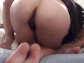 Homemade Anal with a Skinny Milf's that never says no